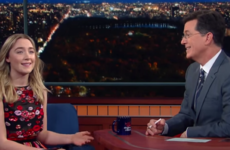 Take a break and watch Saoirse Ronan teach Stephen Colbert how to speak with an Irish accent