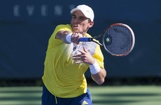 James McGee is just two wins away from a place at the Australian Open