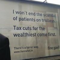 Fianna Fáil's new ad lashes Enda Kenny's infamous promise