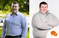 'I weighed a colossal 27 stone aged 21. I was one of the fattest people ever on RTE's Operation Transformation'