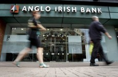 Moody's downgrade rating of Anglo Irish bonds