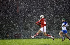 Goals key in Cork victory against Waterford in the snow in Mallow tonight