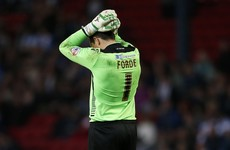 David Forde didn't do himself any favours with this costly blunder for Millwall last night