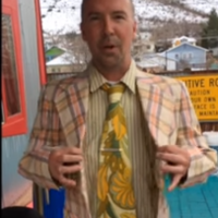 This comedian made a 'booze suit' to sneak alcohol on a boat