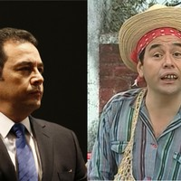 This country's new president is an actor who once played a moron who ran for president