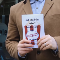 This man is on a mission to ban popcorn from cinemas