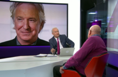Channel 4's Jon Snow has apologised for cracking a joke during an Alan Rickman tribute