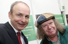 Why was Richie Kavanagh pressing the flesh at the Fianna Fáil Ard Fheis?