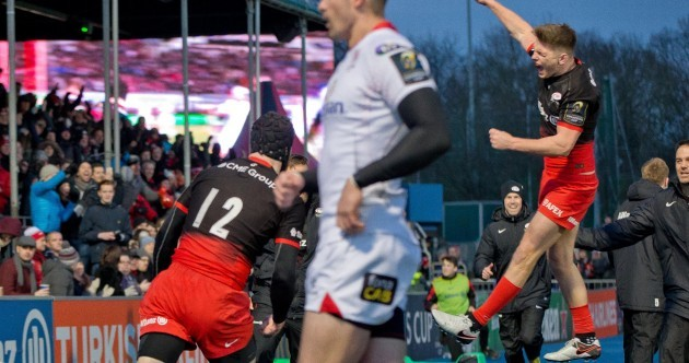Ulster blown away as second-half blast ensures Saracens of home quarter-final