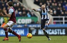 Jonjo Shelvey inspires Newcastle to crucial win as West Ham lose ground on top four