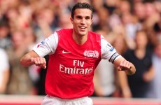 RVP cheers up Arsenal fans, says he's 'committed' to the club