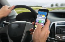 Using WhatsApp, Twitter or Facebook while driving hasn't been completely outlawed yet