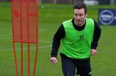 Ex-Ireland and Sunderland striker training with Shamrock Rovers