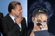 Rihanna and Leonardo DiCaprio have been kissing with tongues... The Dredge