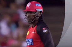 Chris Gayle hits record 50 off 12 balls to exit with a big bang