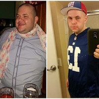 What a transformation - this 29-year-old has lost almost nine stone in 10 months