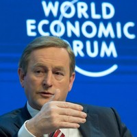 Enda Kenny will be hanging out with a lot of billionaires today