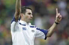 Craig Joubert to ref World Cup final - but under-fire Rolland lands role too