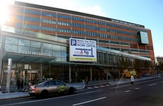 One of Dublin city's main hospitals is telling emergency patients to stay away