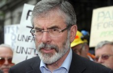 Adams and Ahern in Spain for talks on Basque separatism