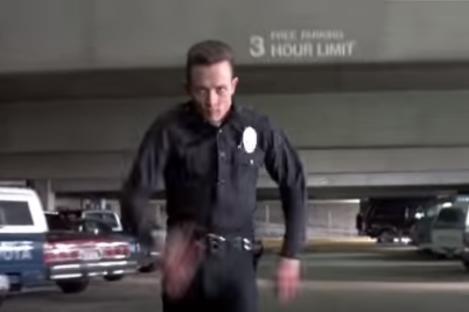 Robert Patrick as the T1000 in Terminator 2