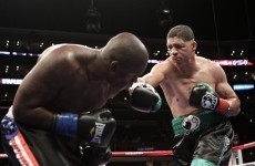 Dewey Bozella wins first fight, immediately retires