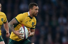 Quade Cooper has signed on with Australia for the Rio Olympic 7s
