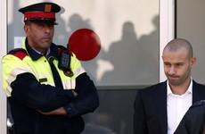 Mascherano escapes prison sentence for tax fraud