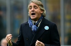 Mancini denies targeting journalist with homophobic slur
