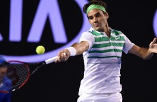 Federer outguns Dimitrov to become first man to reach 300 Grand Slam wins
