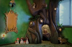The internet is obsessed with this dad who built a tree in his daughter's bedroom