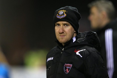 Wexford Youths manager Shane Keegan signed a new two-year contract with the club during the week.