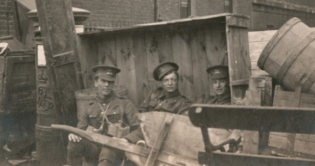 A London gallery is showing some incredible photos from the Easter Rising