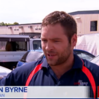This Irish lad caught a wallaby while fishing and was interviewed on the Australian news
