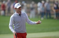 Late birdies boost Rory McIlroy in Abu Dhabi