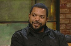 Ice Cube was on the Late Late last night - and got a quizzing over his very Irish (real) name