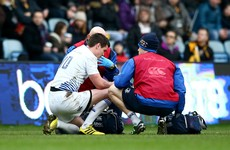 Concern for Johnny Sexton as out-half suffers another head injury