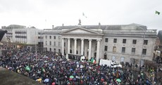 Pictures: Anti-water charge protests have been taking place all over the country today