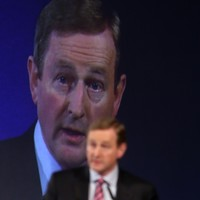 Enda Kenny says there's only one question in this election