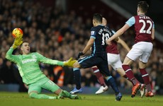 Sergio Aguero rescues Man City as away-day troubles continue