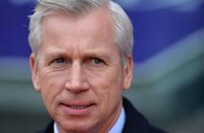 Pardew criticises Tottenham hero for alleged stamp