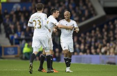John Stones did not have the best of afternoons as Swansea beat Everton