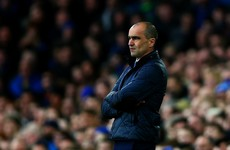 Roberto Martinez left fuming at Seamus Coleman miss