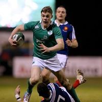 Ireland U20s coach Carolan hoping to see more follow Ringrose's path