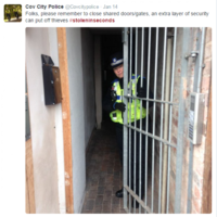 Police in the UK spark fury after tweeting photos from inside unlocked homes