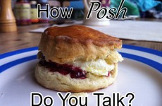 How Posh Do You Talk?