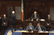 For perhaps the last time, Peter Mathews was sent packing from the Dáil today