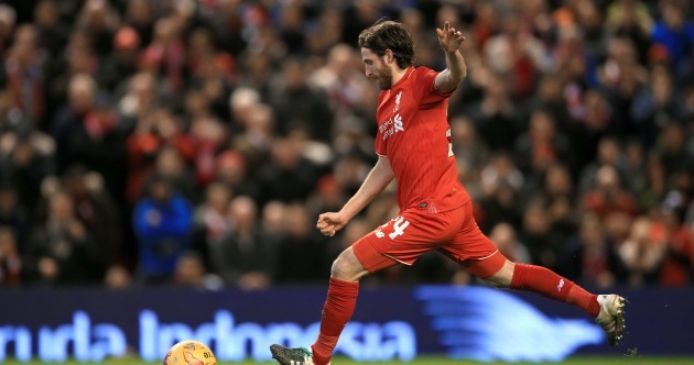 Video: The full penalty shoot-out as Joe Allen books Liverpool's place at Wembley