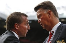 Brendan Rodgers rules out the possibility of replacing Louis van Gaal at Man United