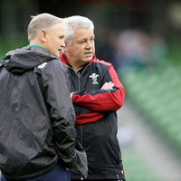 Schmidt's welcome to 'tough' Lions job, says Gatland with an eye on 2017 schedule